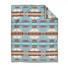 Chief Joseph Robe Aqua Blanket