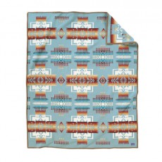 Couverture Chief Joseph Robe Aqua