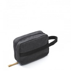 Toiletry Kit Washed Black