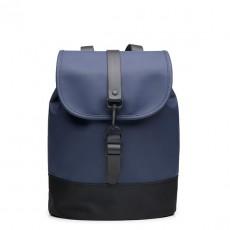 Drawstring Backpack Blue