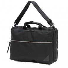 24210 Various 3 Way Briefcase Black