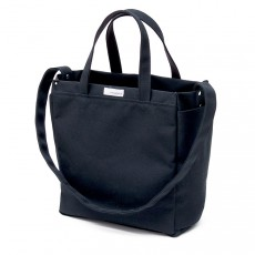 2 Way Tote Bag Black