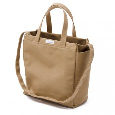 2 Way Tote Bag Beige