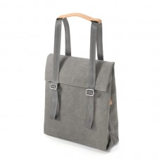 Small Tote Organic Washed Grey