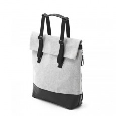Day Tote Raw Blend Leather Canvas