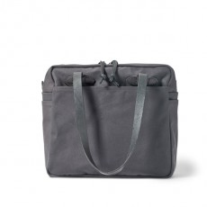 Tote With Zipper Cinder