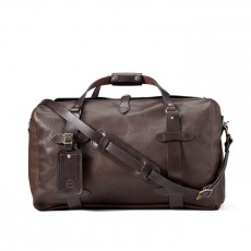 Duffle Medium Weatherproof Leather Sierra Brown