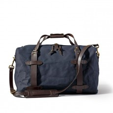 Medium rugged Twill Duffle Bag Navy
