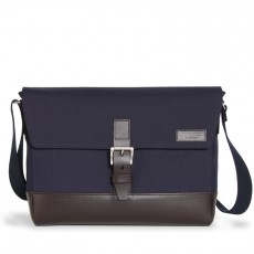 Belleville M Navy Chocolate Leather