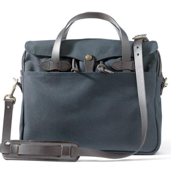 "Rugged Twill Original Briefcase 15"" Bleu"