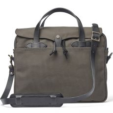 "Rugged Twill Original Briefcase 15"" Root"