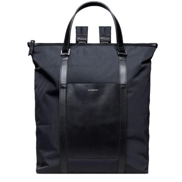 Marta Black with Black Leather