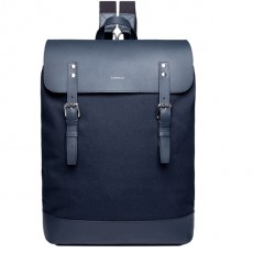 Hege Navy with Navy Leather