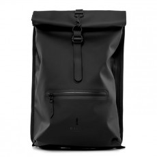Roll Top Rucksack Black