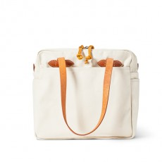 Tote With Zipper Natural