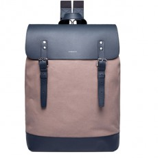 Hege Earth Brown Navy Leather