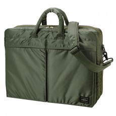 "Tanker New 2 Way Briefcase 15"" Sage Green"
