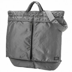 Tanker New 2 Way Helmet Bag Silver Gray