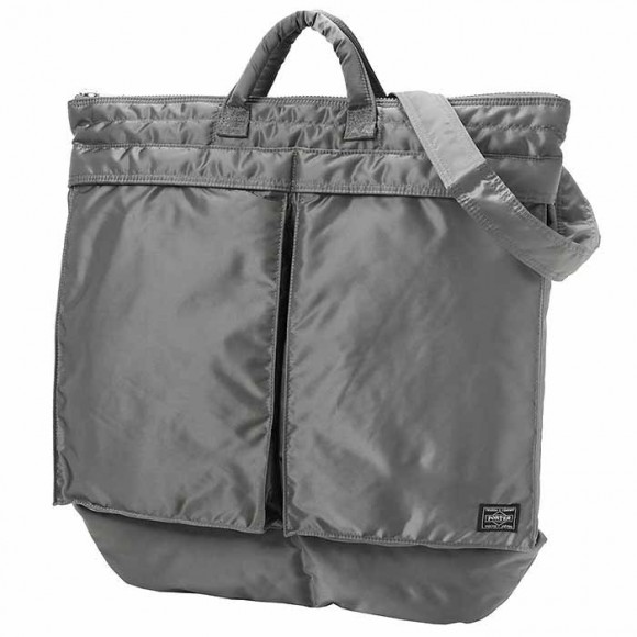 Tanker New 2 Way Helmet Bag Silver Gray