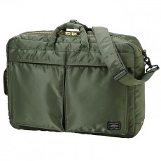 "Tanker New 3 Way Briefcase 15"" Sage Green"