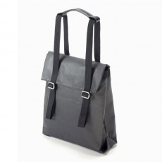 Small Tote Organic Jet Black
