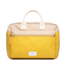 Emil Multi Yellow Beige with Natural Leather