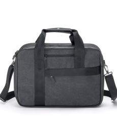 Office Bag Graphite Leather