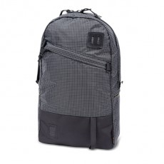 Day Pack Black White Ripstop