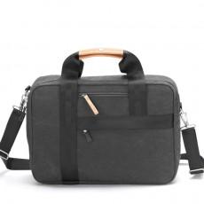 Office Bag Organic Washed Black