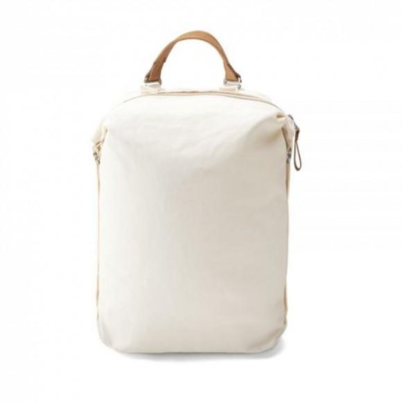 Zip Pack Natural White Bananatex
