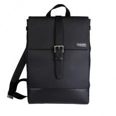 Menilmontant Grained Leather Black