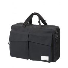 3 Way Briefcase Black