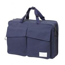 3 Way Briefcase Navy