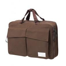 3 Way Briefcase Dark Brown