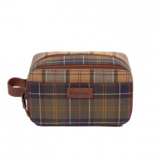 Mixed Tartan Wash Bag