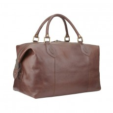 Leather Medium Travel Explorer Dark Brown