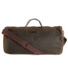 Wax Holdall Olive