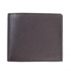Amble Leather Billfold Wallet Dark Brown