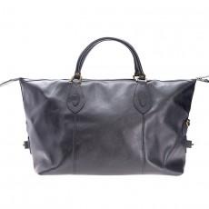 Leather Medium Travel Explorer Black