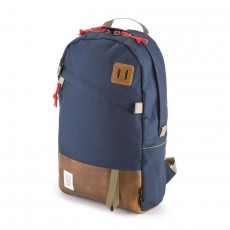 Day Pack Navy Leather