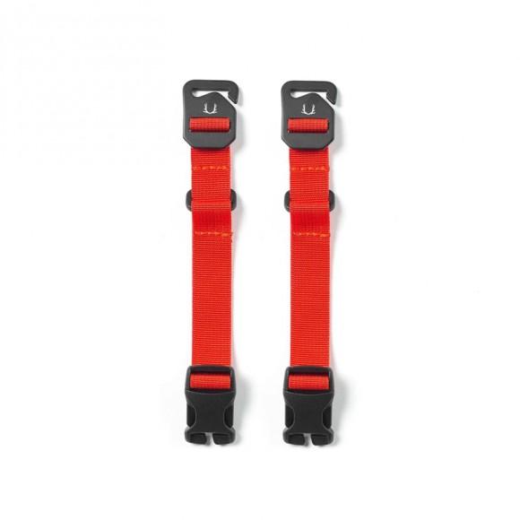 Short Compression Straps Ember Orange