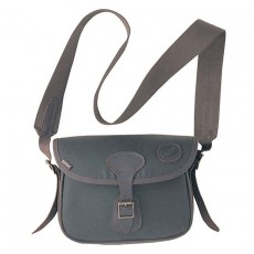 Wax Leather Cartridge Bag Olive