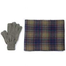 Tartan Scarf and Glove Gift Set