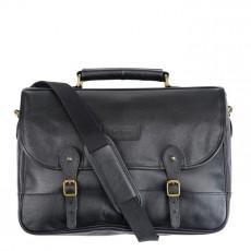 Leather Briefcase Black