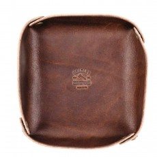 Leather Valet Tray Small