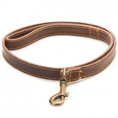 Leather Dog Lead Brown