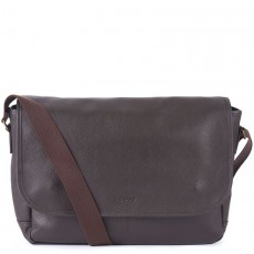 Leather Messenger Chocolate