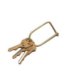 Wilson Keyring Brass