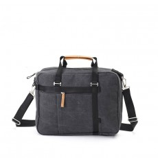 Office Tote Washed Black