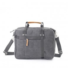 Office Tote Washed Grey